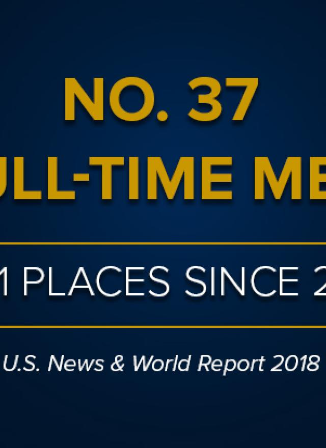 NO. 37 Full-Time MBA