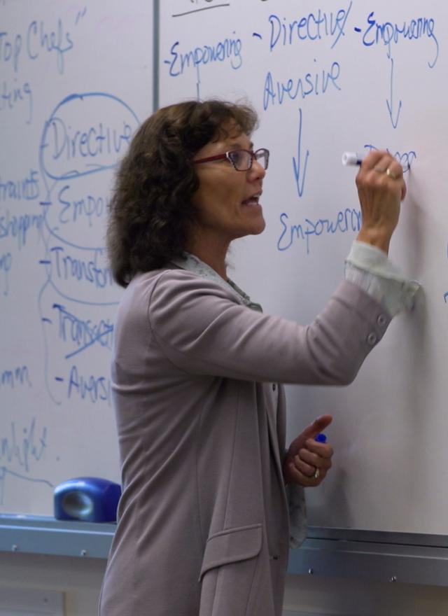Kim Elsbach Teaching