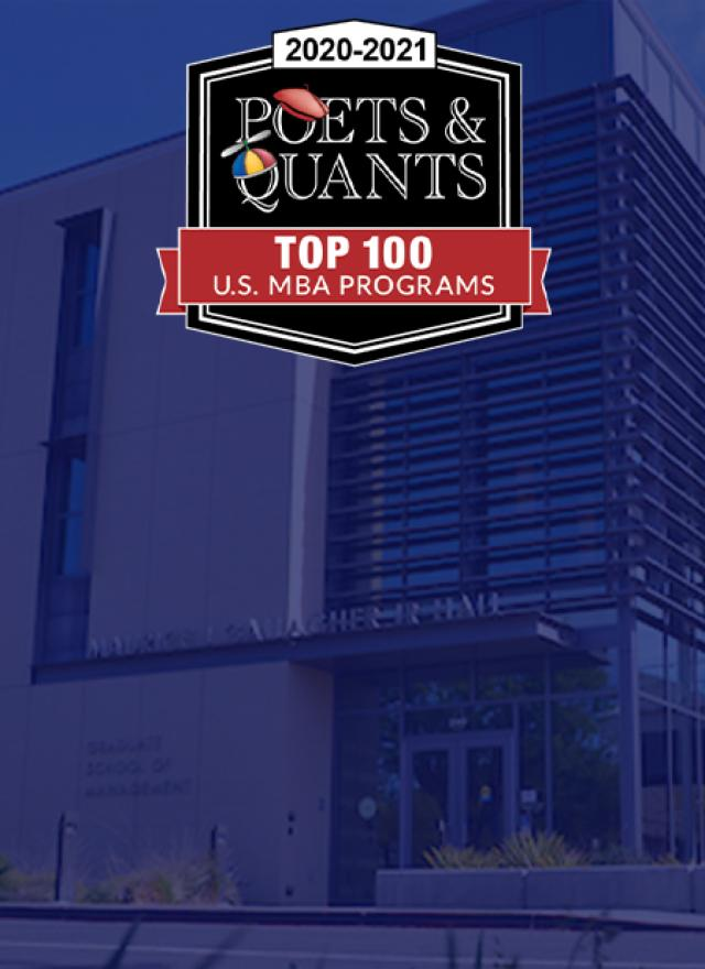 Poets&Quants' Top 100 U.S. Business School Rankings