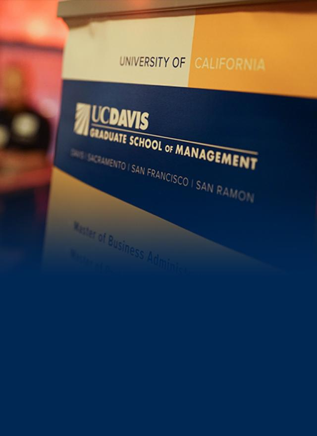 UC Davis Graduate School of Management homepage image