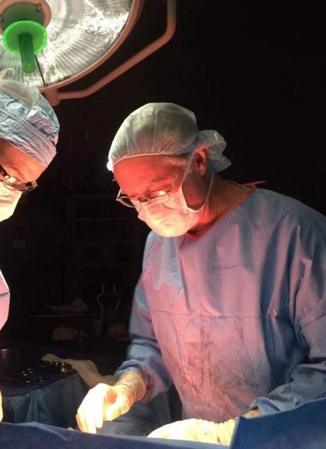 Brent Jackson MBA 20 in the operating room