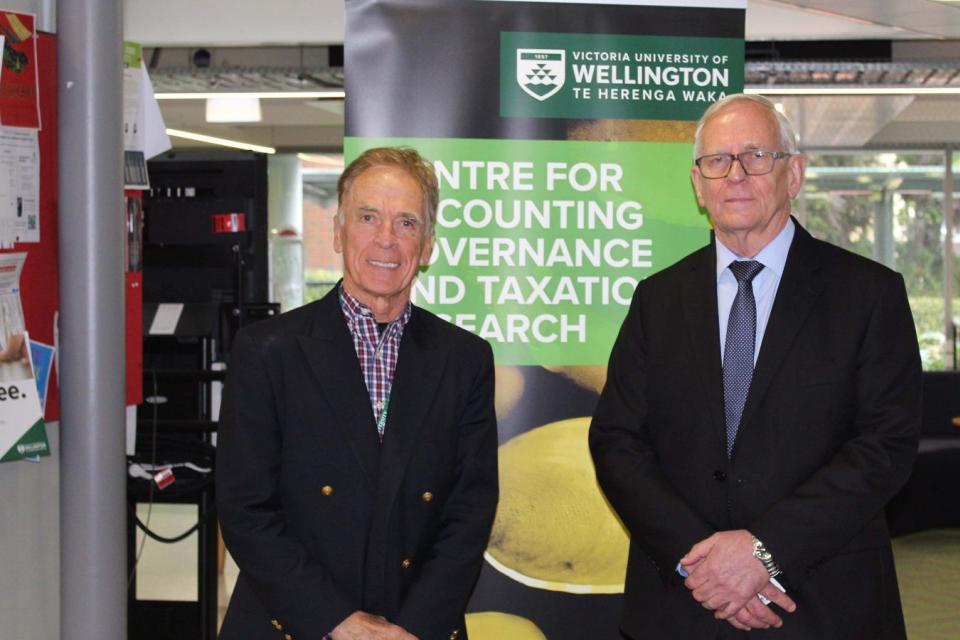 Paul Griffin at the Victoria University of Wellington
