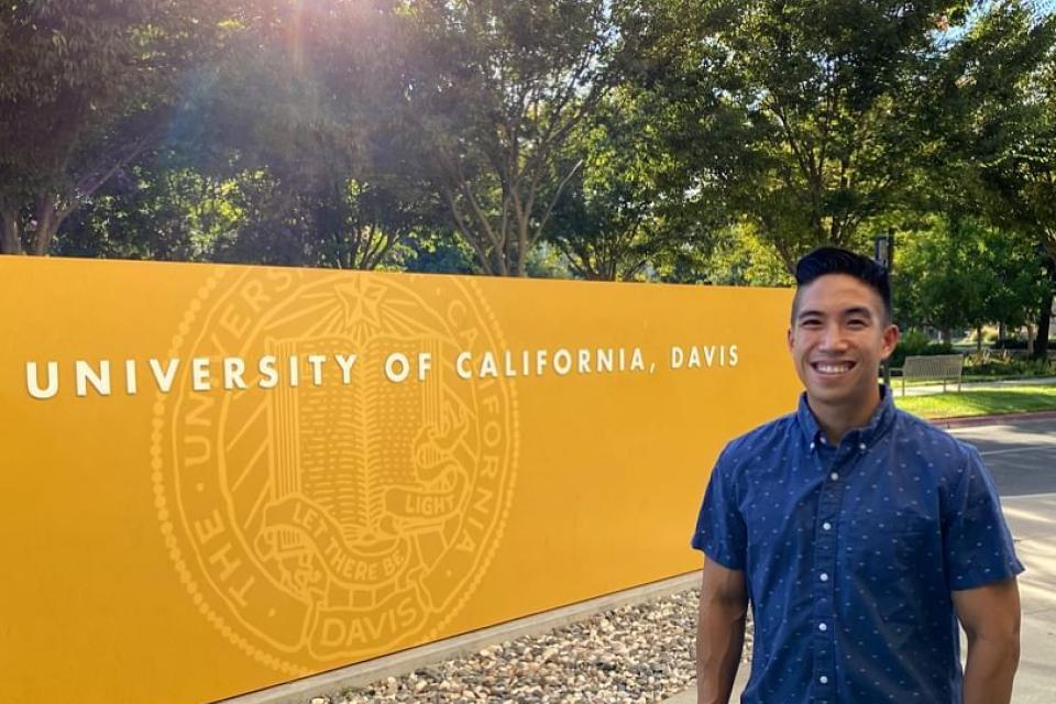 Bay Area Part-Time MBA Kevin Leung at UC Davis